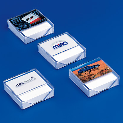 Standard 013-1 + 013-2Notizpapier-Spender »10X10«