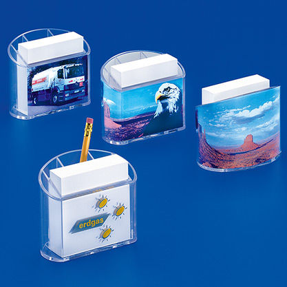 Standard 023»PANORAMA« combination notepaper stand