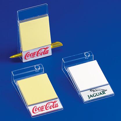 Standard 043Haft-Notizpapier-Halter »VARIO-TIP« für Wand + Tisch