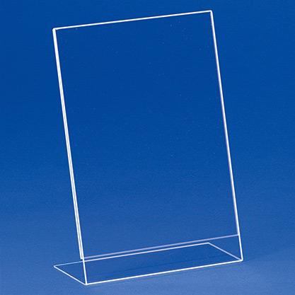Einzelblatt-Einschubständer aus Acryl EBS 4