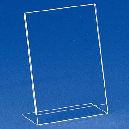 Einzelblatt-Einschubständer aus Acryl EBS 5