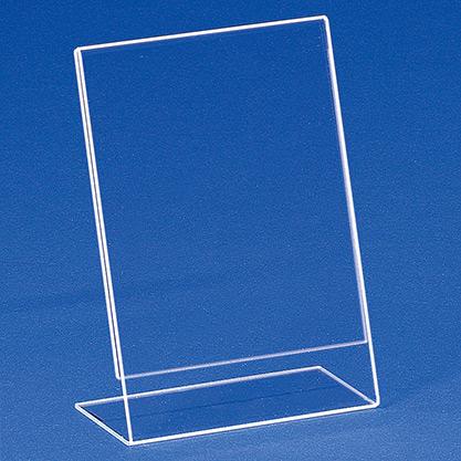 Einzelblatt-Einschubständer aus Acryl EBS 6