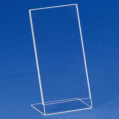 Einzelblatt-Einschubständer aus Acryl EBS DL