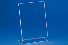 Single sheet insert-stands (acryl) EBS 3