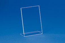 Single sheet insert-stands (acryl) EBS 5 (Portrait and Landscape)