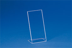 Single sheet insert-stands (acryl) EBS DL