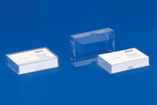 Business card dispensers with 3 functions: Case • Dispenser • Stand ST 18