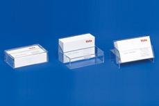 Visitenkartenspender mit 3-fach Funktion als Spender • Etui • Ständer VKS 2
